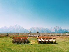 Jackson Hole Wedding at Lost Creek Ranch www.lesleemitchell.com | Jackson Hole Wedding Photographer