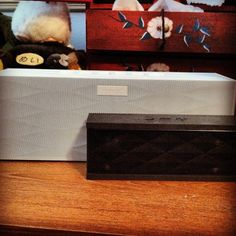 Big and small Jamboxs. Look good together