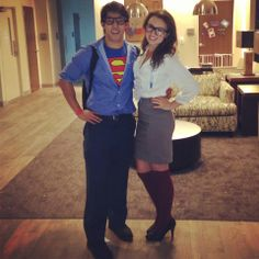 zach and I are doing this. 110%. its happening.  sc 1 st  Pinterest & Superman and Lois Lane couples halloween costume #couples #halloween ...