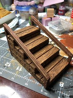 icu ~ Pin by D T on Diorama Miniature Crafts, Miniature Houses, Jardin Zen Miniature, Tabletop, Castle Crafts, Dungeons And Dragons Miniatures, Dungeon Tiles, Warhammer Terrain, Diy Table Top