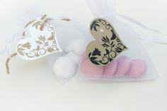 Stampin' Up Gastgeschenk Hochzeitsmandeln Herz