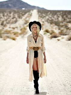 Free People Vintage 1980s Duster Dress, $228.00