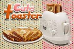 Lakupon.com : Have the Perfect Breakfast with Tissor Cute Toaster Only Rp 105.000,-