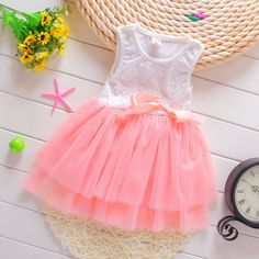 >> Click to Buy << 2015 New Baby Girls Dress baby Girls clothes vestidos infantis Children Dresses Princess Party Dress girls clothes #Affiliate