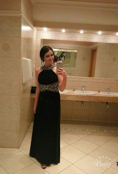 #dress #tkmaxx #polishgirl #prom #brunette #blackdress