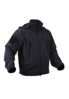 Blue Special Ops Soft Shell Midnite Jacket ! Buy Now at gorillasurplus.com
