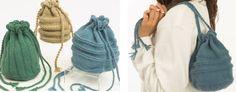 Stylish Encore Knitted Purses [FREE Knitting Pattern]