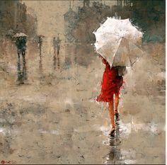 Andre Kohn's figurative impressionistic piece
