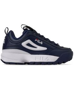 106f2a009ac Fila Boys  Disruptor Ii Premium Casual Athletic Sneakers from Finish Line