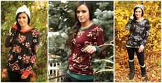Two toned pullovers for the win! These prints are so cute for fall and only $23.99!