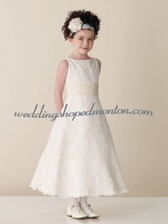 Irish linen first communion dress ellen irish for Cheap wedding dresses edmonton