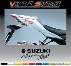 SUZUKI GSXR RED SIDE FAIRING DECAL STICKERS GSXR - Suzuki motorcycles stickers