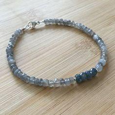 Bracelet Fine Jewellery Honesty Stunning Firey Labradorite & 925 Sterling Silver Anklet
