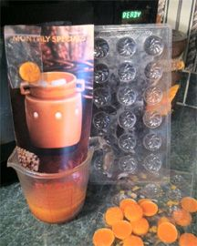 Scentsy  Make scent samples to give to customers.  Check out my blogspot on other ideas for consultants.