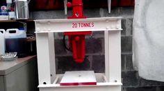 Nice Presse Hydraulique Maison 20 Tonnes Pour 0,0 Euro