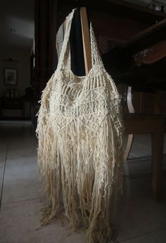 threads on the Net: Macrame Bag                                                                                                                                                      Más