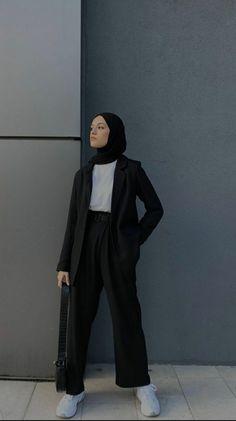 Modern Hijab Fashion, Muslim Women Fashion, Street Hijab Fashion, Modesty Fashion, Kpop Fashion Outfits, Casual Hijab Outfit, Foto Instagram, Mode Hijab, Clothes