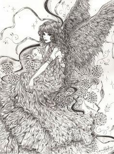 Commission: Angel by bluesaga331 on DeviantArt