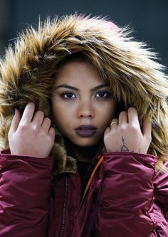 Amazing shot from the Alpha Industries A16 shoot #alphaindustries #womenswear #fashion #winter #autumn #clothes #coat #jacket #parka