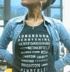 MMM.D9 :: Pride & Prejudice Tee. Brookish, Etsy.