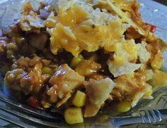 Healthier Nacho Chicken Casserole |Haphazard Homestead