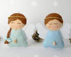 Gingerbread house Advent Calendar Felt Advent by Rainbowsmileshop
