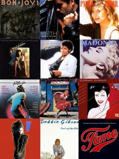 I have every one of these albums - EXCEPT Fame, Thriller and Debbie Gibson