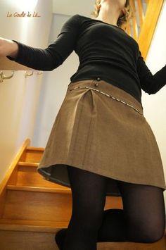 Jolie jupe à plis