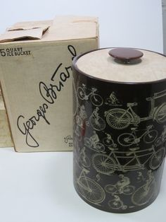 Georges Briard bicycles ice bucket