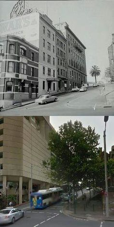 Albert St,Circular Quay in Sydney *** 1963~2014 *** City of Sydney Archives~Google Street View *** A♥W