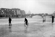 The 'Big Freeze of 1963' caused the River Thames to freeze over with the cold snap lasting two months.