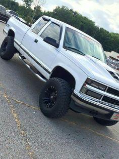 97 z71 1500 white chevy   1997 Chevrolet 1500 z71 ...