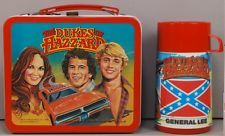 Dukes of Hazzard 1980 Lunchbox & Thermos High Grade C9++