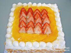 Fong's Kitchen Journal: Strawberry & Mango Cake (Happy Teachers' Day)