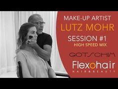 Make-Up Artist LUTZ MOHR schminkte für uns Modell Albiona.