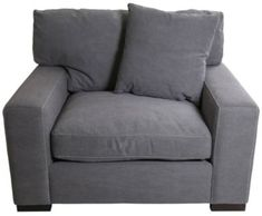 Max Home Outback Gray Chair & 1/2 | Homemakers Furniture