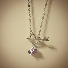 Check out this item in my Etsy shop https://www.etsy.com/ca/listing/487902031/heart-and-arrow-toggle-necklace-with