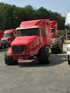 Big Rig Trucks, New Trucks, Custom Trucks, Lifted Trucks, Cool Trucks, Redneck Trucks, Diesel Brothers, Little Truck, Custom Big Rigs