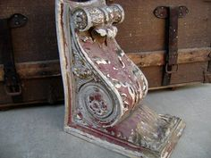 Vintage corbels --  supports for shelves or even simply for table top accessories.