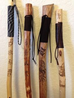 How to Make Your Own Walking Stick - Bing ImagesYou can find Walking sticks and more on our website.How to Make Your Own Walking Stick - Bing Images Awesome Woodworking Ideas, Woodworking For Kids, Woodworking Joints, Woodworking Patterns, Woodworking Crafts, Woodworking Beginner, Intarsia Woodworking, Woodworking Workbench, Woodworking Workshop