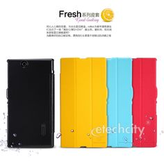 #NILLKIN Fresh Series #Leather Case for #SONY XL39H(Xperia Z Ultra) [HCPC-N-SNYXL39] - $26.90