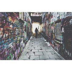 by rafleuris: 't Verfspuiterken ~ #gloomgrabber #graffiti #streetart #urban #urbex #city #vsco #vscocam #art #jj_sombre #art #gent