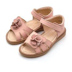 2d98f2bca82b Pom Pom sandal m. blomst rosa