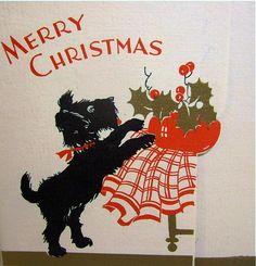 Christmas + Scottie = TROUBLE