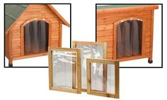 Premium Plus Dog House Door Flap Cool Dog Houses, Pet Furniture, House Doors, Cute Creatures, Training Your Dog, Dog Care, Best Dogs, Shed, Pets