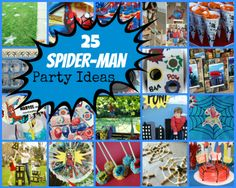 25 Spider-Man Birthday Party Ideas