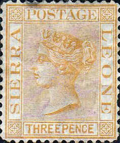 Sierra Leone 1876 Queen Victoria SG 22 Fine Used Scott 15 Other African Stamps HERE