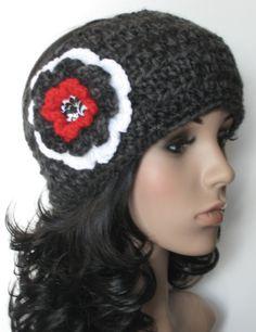 Women's Crochet Ear Warmer Earwarmer Headband with by buyhand