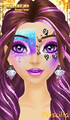 MY beautiful art peice Chica Fantasy, Girly Pictures, My Friend, Friends, Disney Characters, Fictional Characters, Halloween Face Makeup, Disney Princess, Pretty