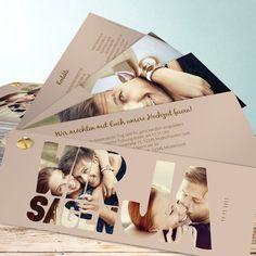 Hochzeitseinladungen - online selbst gestalten                                                                                                                                                                                 Mehr